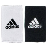 Adidas Interval Large Reversible Wristband-White/Black