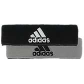 Adidas Interval Reversible Headband-Black/Aluminum