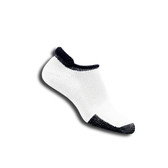 Thorlo® Thick Cushion T-Rolltop Tennis Sock with Thor-Lon®-White and Black