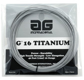 AG 16 TITANIUM Tennis String Set