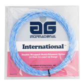 AG Multifilament Tournament Nylon Tennis String Set-Blue Spiral