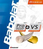 Babolat Hybrid Pro Hurricane Tour + VS Tennis String Set
