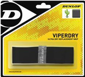 Dunlop ViperDry Black Replacement Racquetball Grip