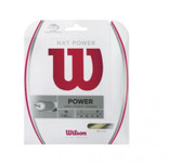 Wilson NXT Power Tennis String Set- Natural-16
