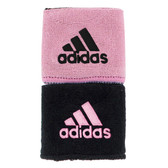 Adidas Interval Reversible Wristband-Gala Pink/Black