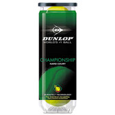 Dunlop Yellow Championship Regular Duty Tennis Balls