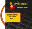 Kirschbaum Super Smash Orange Tennis String Set