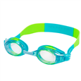 Leader Anemone Junior Swim Goggles Aqua-Lime