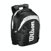 Wilson Racquetball Backpack-Black/Silver
