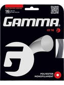 Gamma iO Tennis String Set-16-Black