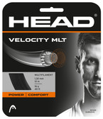 The Head Velocity MLT Tennis String Set-16 Gauge-Black