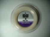 AG 16 Synthetic Gut Tennis String Reel-16-White