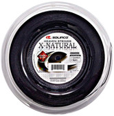 Solinco X-Natural Tennis String Reel-17G-Black