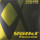Völkl Cyclone Tennis String Set-19G-Black