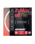 Ashaway ZyMax 66 Fire Badminton String Set-Ivory White
