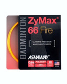 Ashaway ZyMax 66 Fire Badminton String Set-Fire Orange