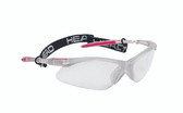 Head 2016 Icon Pro (Paola Longoria) Protective Eyewear (Clear/Pink)