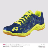 Yonex Men's Power Cushion Aerus 2 Indoor Shoe-Navy Blue
