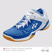 Yonex Women's Power Cushion 03 2017 Badminton Shoe-Light Blue