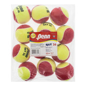 Penn QST 36 Felt Training Ball 12 Pack