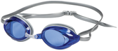 Leader Zenith Narrow Swimming Goggles - Blue/Silver