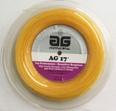 AG 17 Synthetic Gut 17G Tennis String Reel - Gold