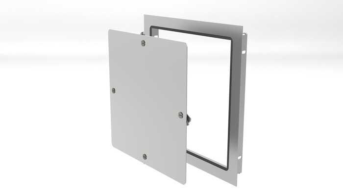 Elmdor Access Doors : Quot weather strip removable access door elmdor max