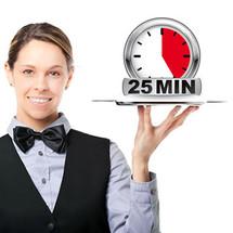 A La Carte Stone Massage - 25 mins