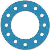 Teadit, NSF-61 SAN 1082, Full Face Gasket, Pipe Size: 8(8) Inches (20.32Cm), Thickness: 1/8(0.125) Inches (3.175mm), Pressure: 300# (psi), Inner Diameter: 8 5/8(8.625)Inches (21.9075Cm), Outer Diameter: 15(15)Inches (38.1Cm), With 12 - 1(1) (2.54Cm) Bolt Holes, Part Number: CFF1082.800.125.300