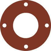 7175 Style Silicone 50-60 Durometer Full Face Gasket For Pipe Size: 1(1) Inches (2.54Cm), Thickness: 1/16(0.0625) Inches (0.15875Cm), Pressure: 150# (psi). Part Number: CFF7237.100.062.150