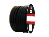 Teadit Style 2255 Synthetic Yarn with Graphite, Lubricated Packing,  Width: 3/8 (0.375) Inches (9.525mm), Quantity by Weight: 5 lb. (2.25Kg.) Spool, Part Number: 2255.375x5
