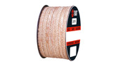 Teadit Style 2777 Novoloid Fiber, PTFE Impregnated, Packing,  Width: 1/8 (0.125) Inches (3.175mm), Quantity by Weight: 25 lb. (11.25Kg.) Spool, Part Number: 2777.125x25