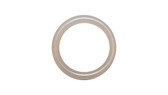 O-Ring, Clear Urethane Size: 206, Durometer: 90 Nominal Dimensions: Inner Diameter: 15/31(0.484) Inches (1.22936Cm), Outer Diameter: 16/21(0.762) Inches (1.93548Cm), Cross Section: 5/36(0.139) Inches (3.53mm) Part Number: OR90CLRURE206