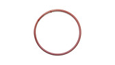 O-Ring, Clear PTFE PFA/FEP Encapsulated Orange Silicone Size: 116, Durometer: 70 Nominal Dimensions: Inner Diameter: 14/19(0.737) Inches (1.87198Cm), Outer Diameter: 33/35(0.943) Inches (2.39522Cm), Cross Section: 7/68(0.103) Inches (2.62mm) Part Number: ORTESI116