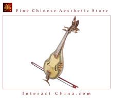 Uyghur Violin Fiddle Silk Road String Musical Instrument Xinjiang Music Khushtar 70cm