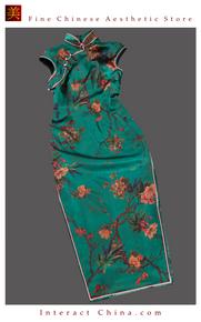 Premium Silk Top Tailor Artistry Cheongsam Qipao Gown Dress - Free Custom Made #116
