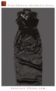 Premium Silk Top Tailor Artistry Cheongsam Qipao Gown Dress - Free Custom Made #119
