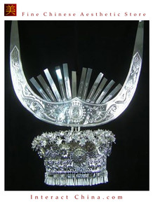Silver Tiara Vintage Costume Tribal Jewelry 100% Handcrafted Jewellery Art #101LJ