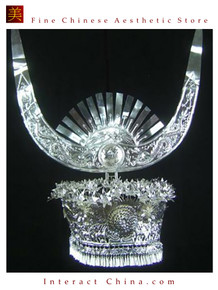 Silver Tiara Vintage Costume Tribal Jewelry 100% Handcrafted Jewellery Art #101MJ