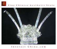 Silver Tiara Vintage Costume Tribal Jewelry 100% Handcrafted Jewellery Art #111