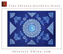 100% Handmade Batik Art Pure Cotton Bed Sheet Spread Linen Bedding - Queen #113