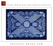 100% Handmade Batik Art Pure Cotton Bed Sheet Spread Linen Bedding - King #124