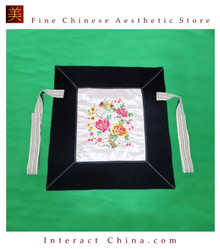 Flowery Mei Tai Baby Carrier 100% Handmade Art Front Back Sling Wrap Podaegi #102