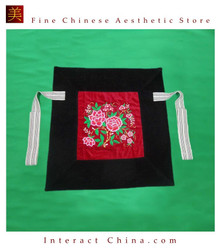 Flowery Mei Tai Baby Carrier 100% Handmade Art Front Back Sling Wrap Podaegi #106