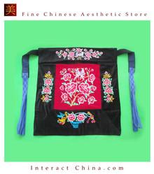 Flowery Mei Tai Baby Carrier 100% Handmade Art Front Back Sling Wrap Podaegi #123