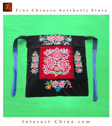 Flowery Mei Tai Baby Carrier 100% Handmade Art Front Back Sling Wrap Podaegi #127