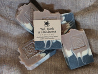 Tall, Dark & Handsome handmade soap