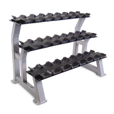 "44"" Three-Tier Dumbbell Rack with Saddles"