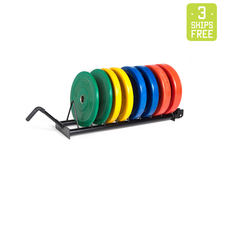 The Punisher - 230lb Colored Bumper Plate Set