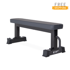 CAP+ Flat bench with wheels (Black)